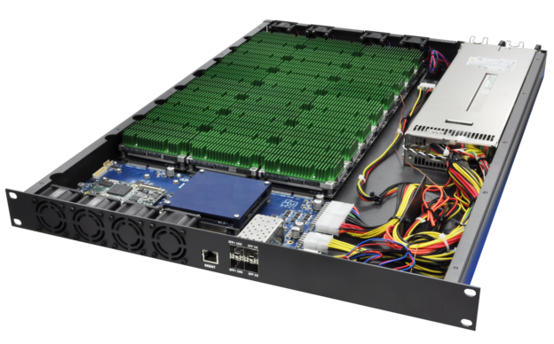 Figure 9: UTX1A scalable array from USES Integrated Solutions & ConnectTech offers 24 Jetson sockets in 1U with 10 gigabit networking, passive cooling, and energy-efficient green HPC.