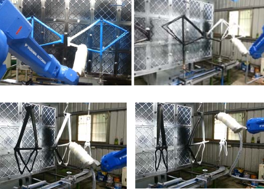 Trained Robot Autonomously Spray Paints Bicycle Frames - NVIDIA ...