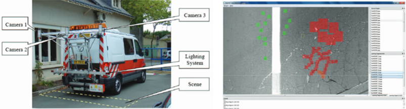 Intelligent Monitoring System for detecting cracks