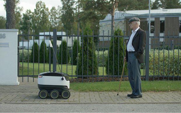 Tegra based robot