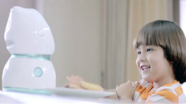 Share Your Science: Artificial Intelligent Robot for Children