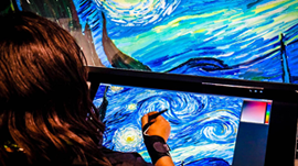World's First Real-Time 3D Oil Painting Simulator