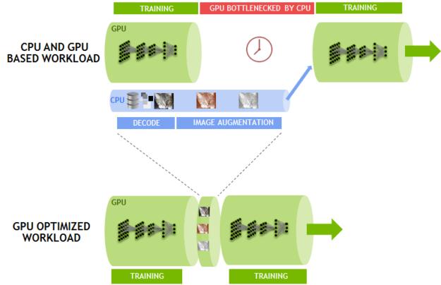 Dali NV100 GPU Optimized Workload