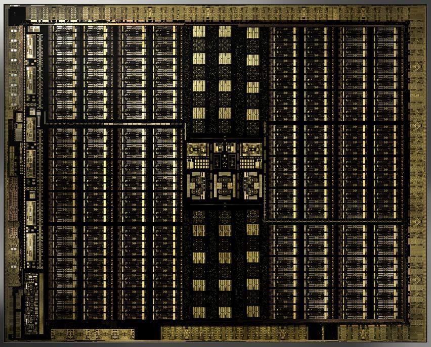 NVIDIA Turing TU102 GPU die shot