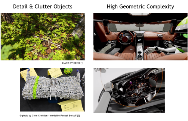 Turing mesh shaders geometric complexity motivation