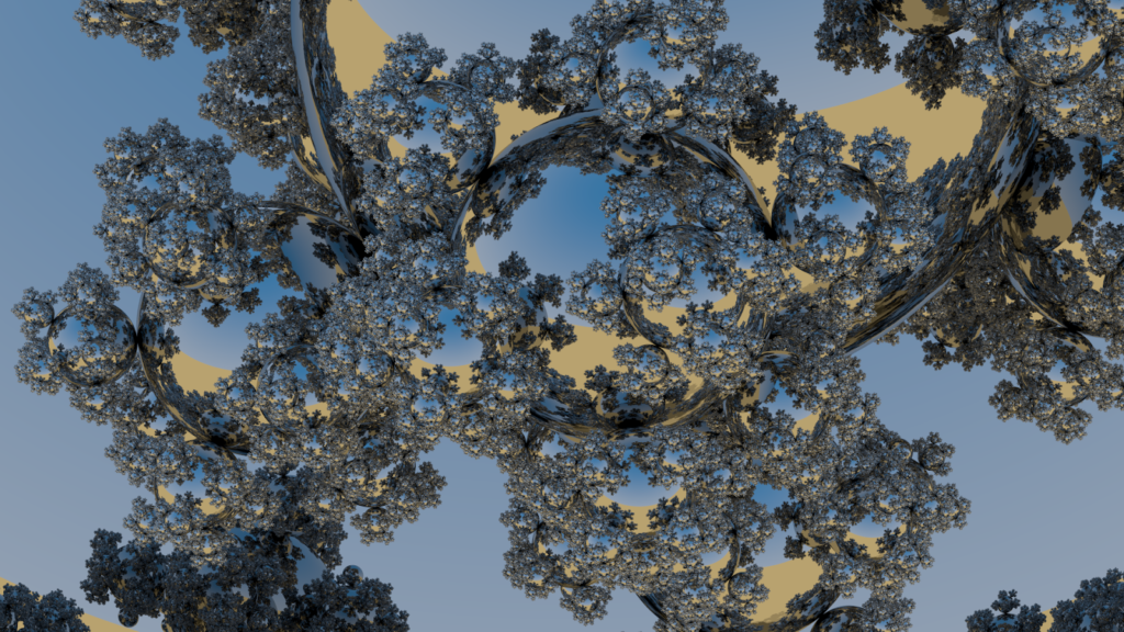 Sphereflake close-up image