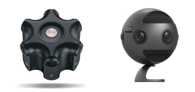 Two 360 cameras image