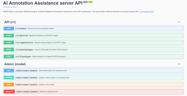 annotation server web interface image
