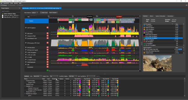 NVIDIA Nsight Graphics screen shot