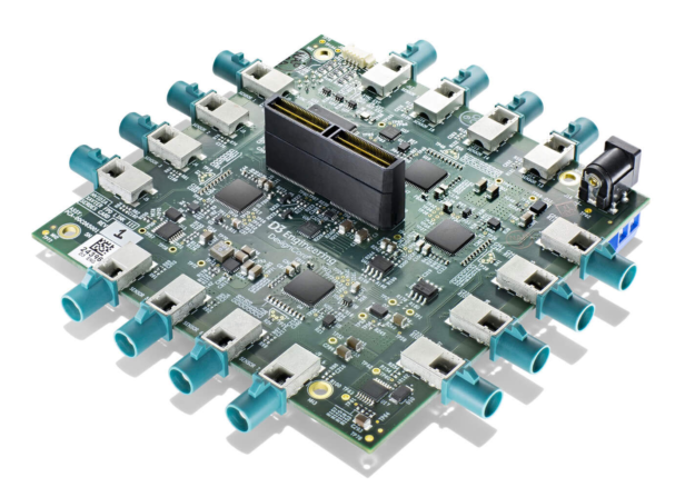 Snapview photo of D3 Engineering expansion module to connect 16 FPD-Link  cameras to a Jetson Xavier