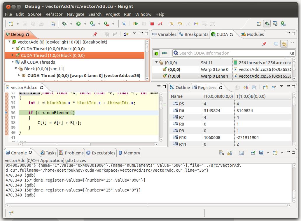 GNU GDB Debugger Command Cheat Sheet