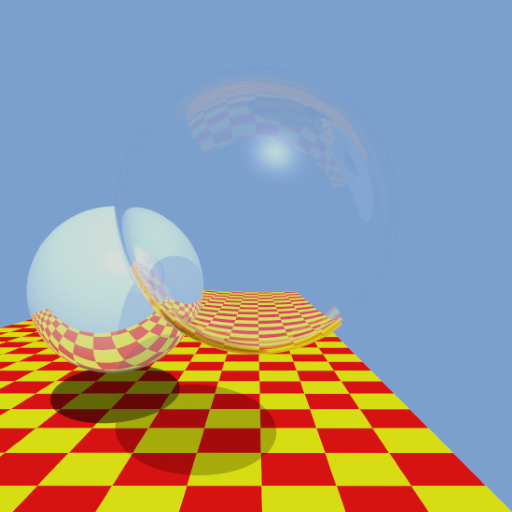 Shaded display re-visited: implementing a ray tracer in MDL