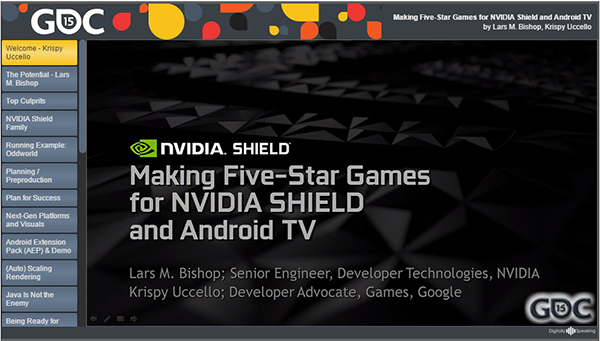 Training Materials for SHIELD and Android TV | NVIDIA Developer