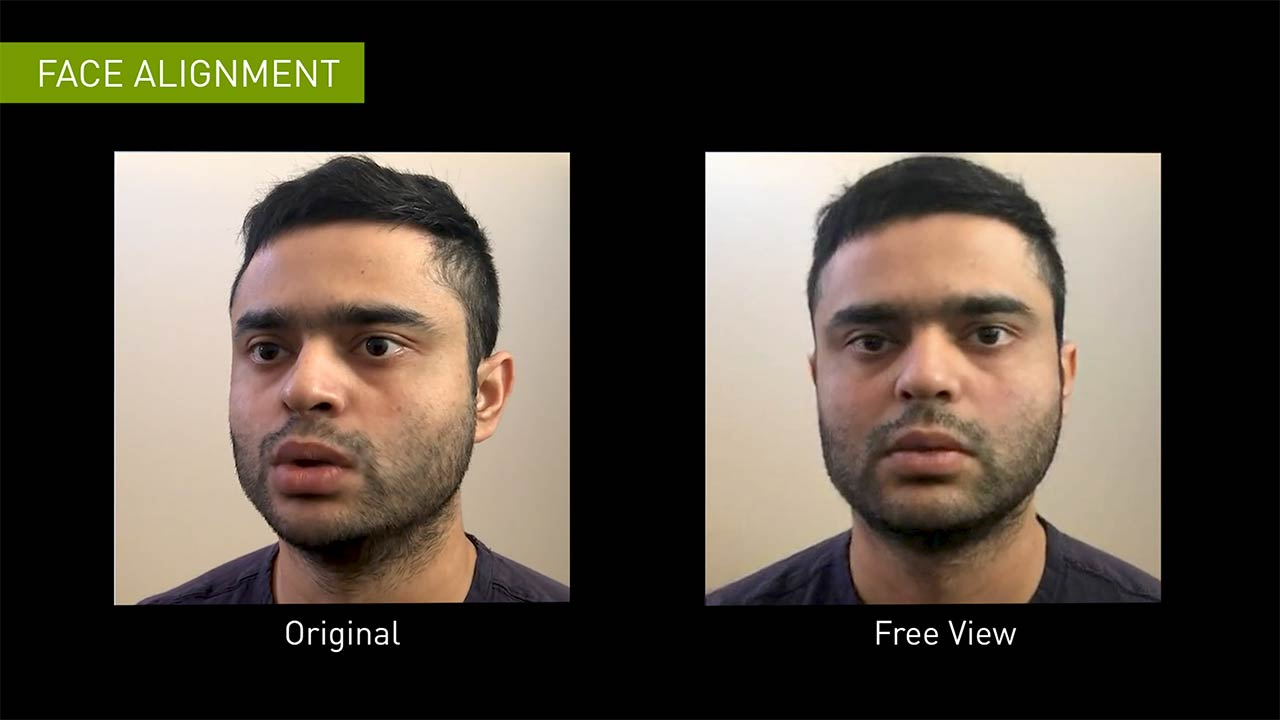 Face alignment using generative adversarial networks (GANs)