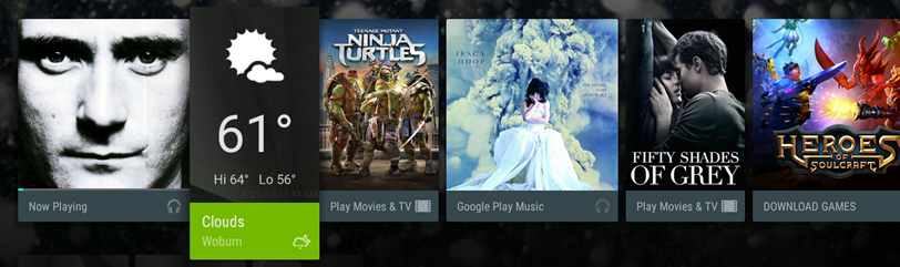 Android TV Recommendations: What's in it for my app or game