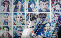 AI Art Gallery at GTC: AI in the Hand of the Artist