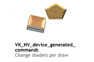 New: Vulkan Device Generated Commands