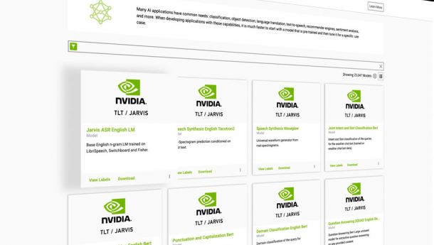 Announcing Megatron for Training Trillion Parameter Models & NVIDIA Jarvis Availability